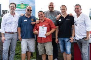 Altmark BBQ - Gruppenfoto mit Jury der Kerrygold Cheddar Burger Challenge