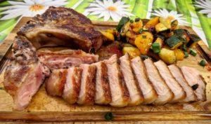 Koteletts vom Iberischen Schwein