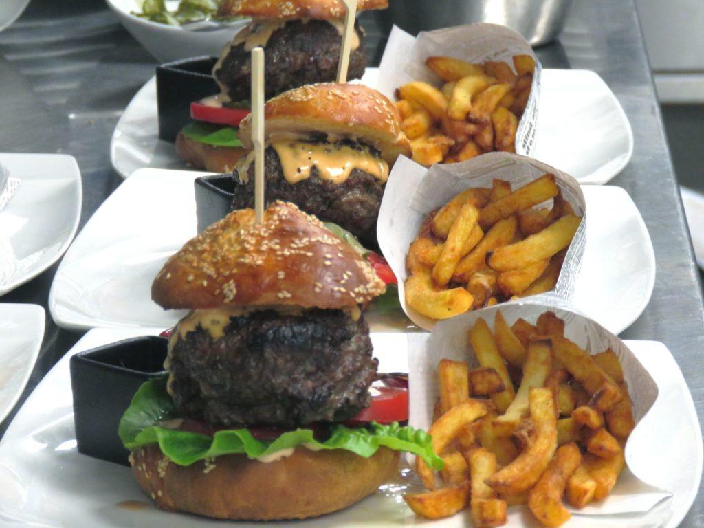 Fertige Havel-Wagyu-Burger