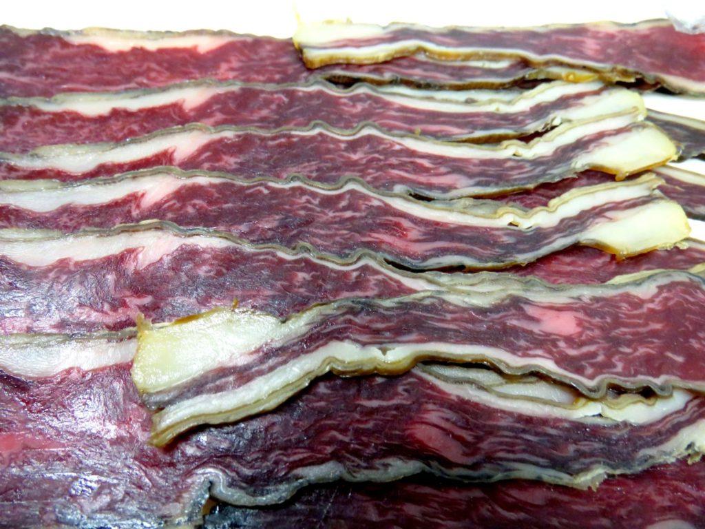 Bacon vom Wagyu-Rind