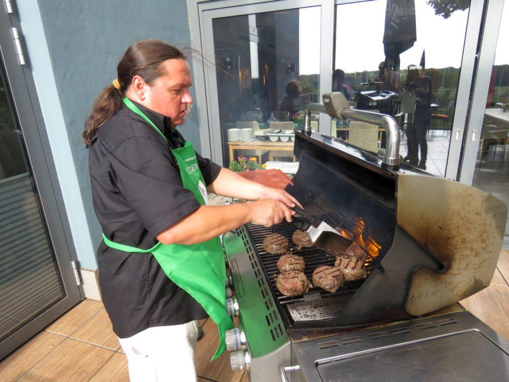 Wagyu Burger grillen