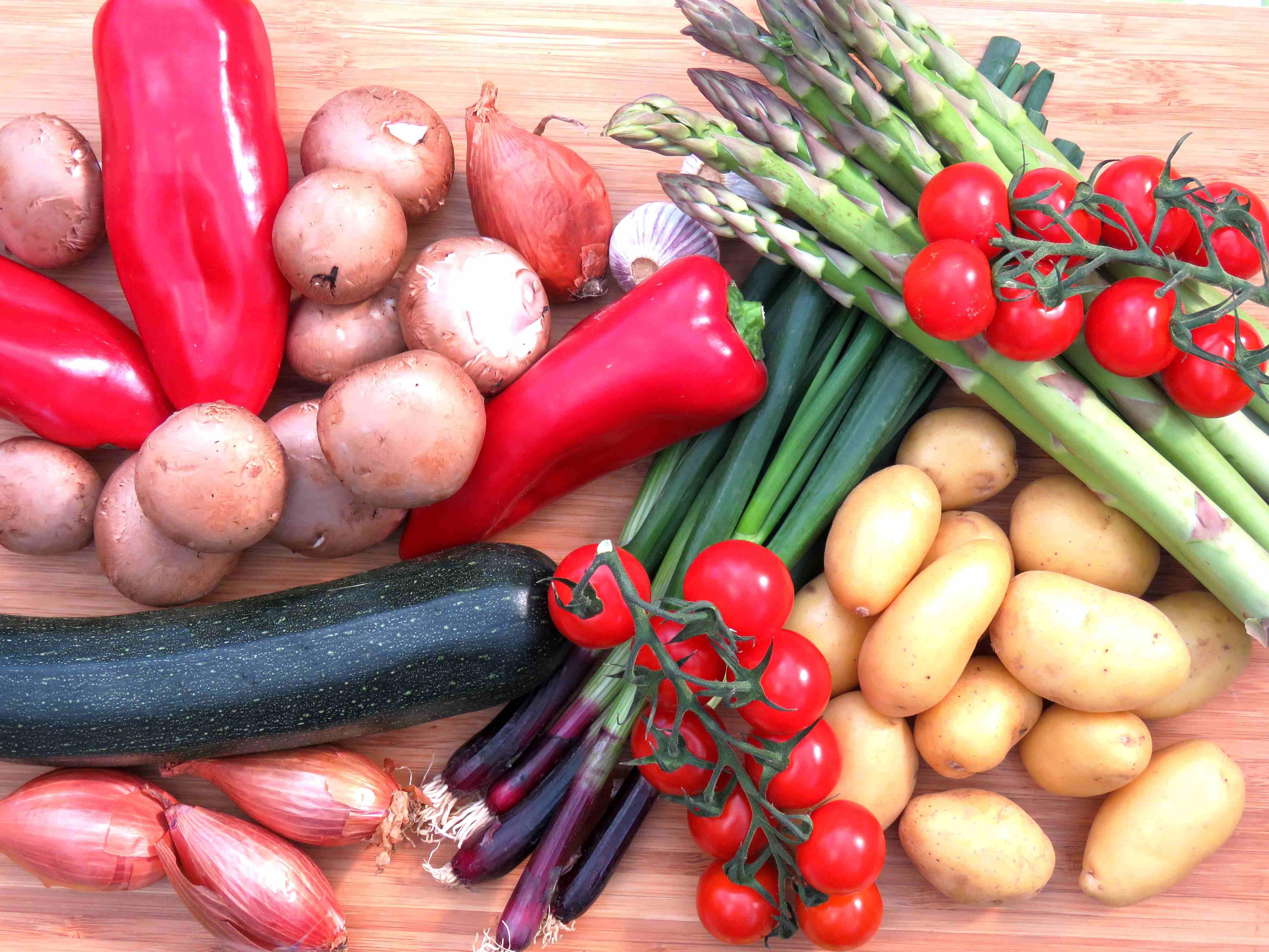 Gemüse für Grillgemüse