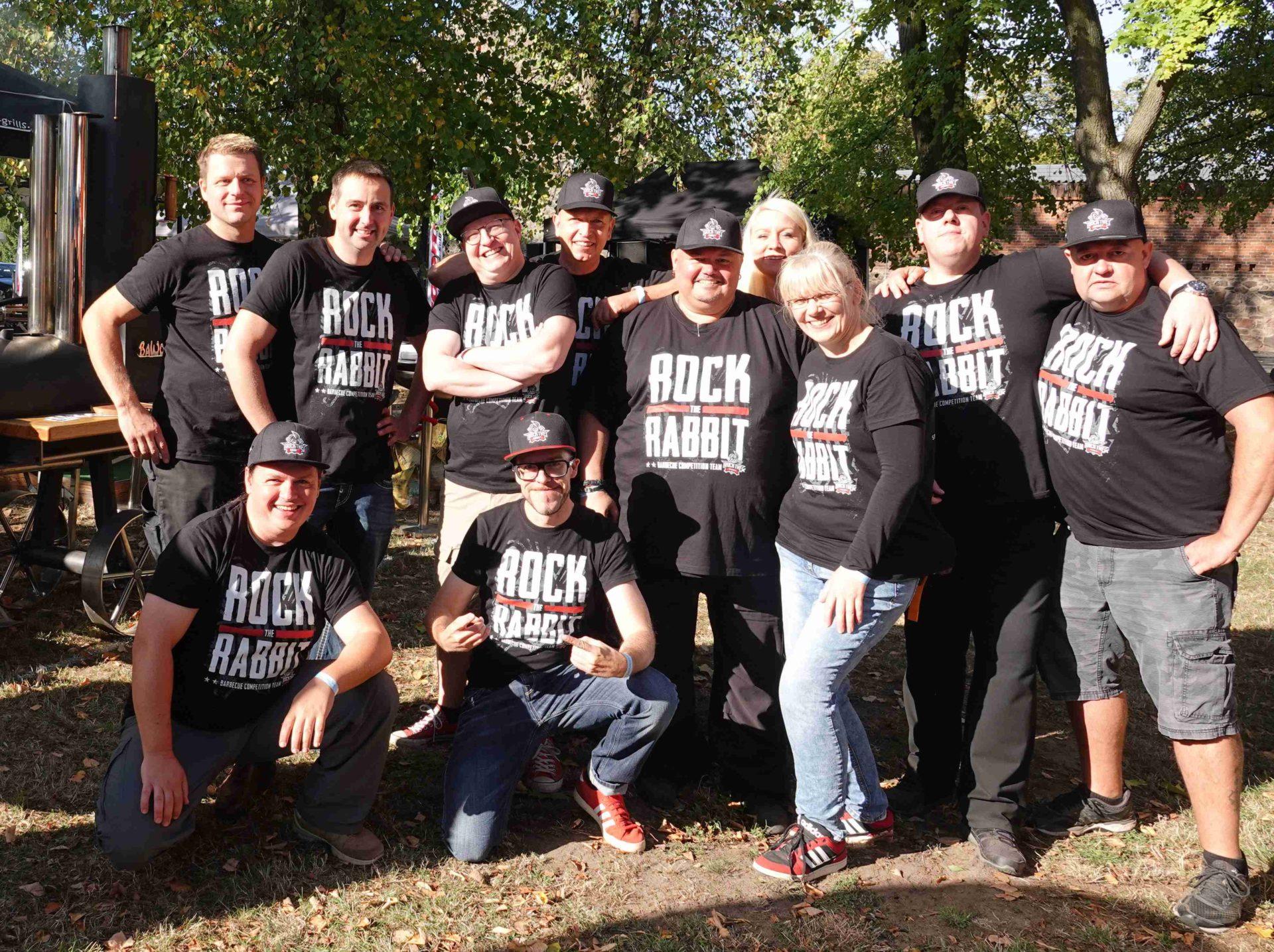 Rock The Rabbit Team BBQFamily