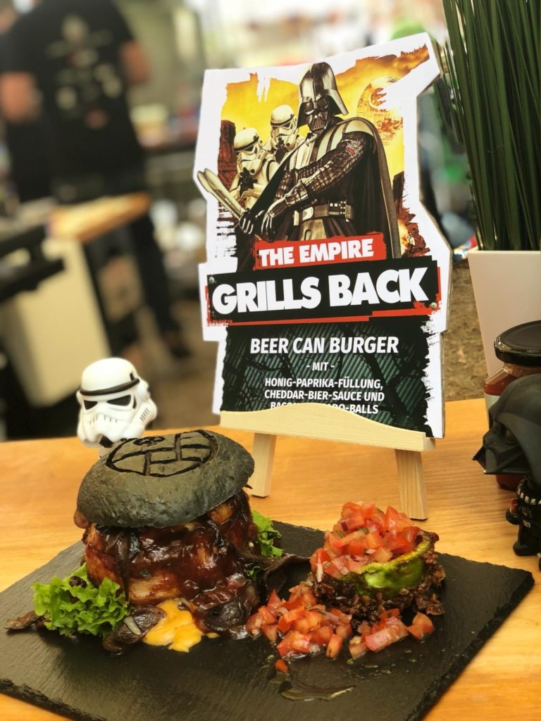 rock the rabbit imperial burger beer can burger