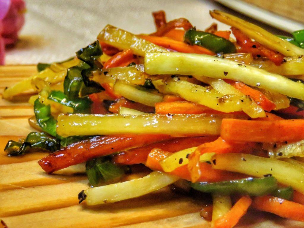 Gebratenes vietnamesisches Gemüse