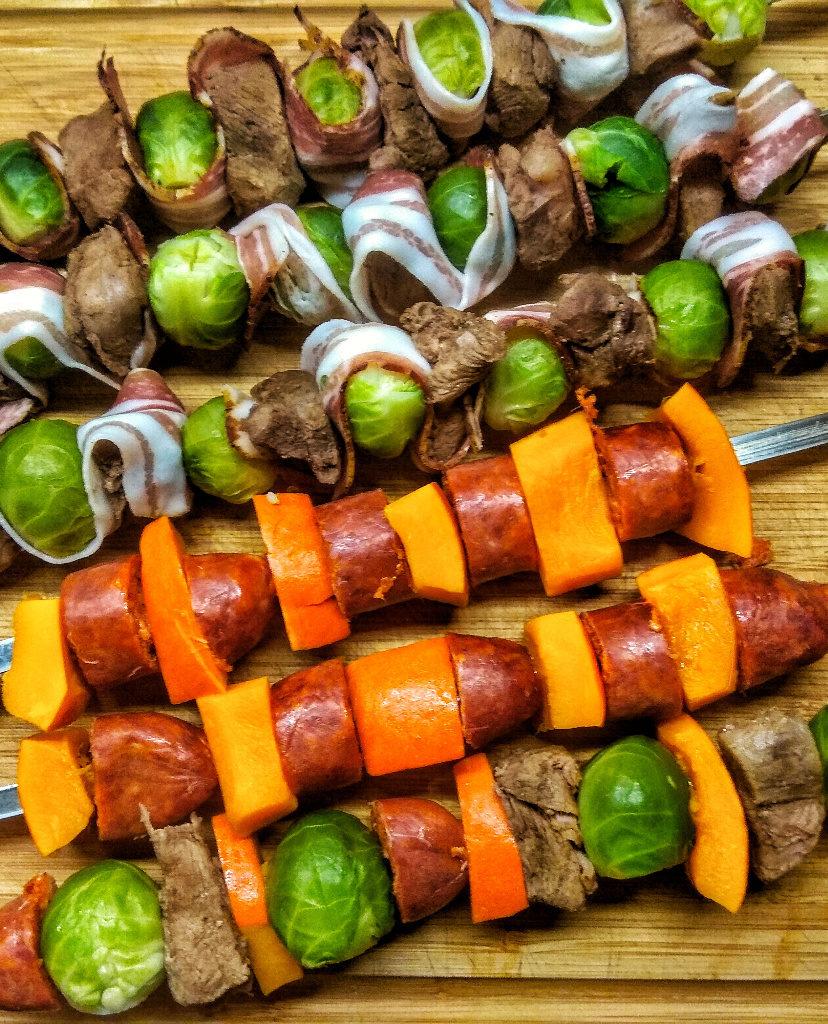 Wildschweinspieße für Grillspieß-Rondell von BBQ-Toro
