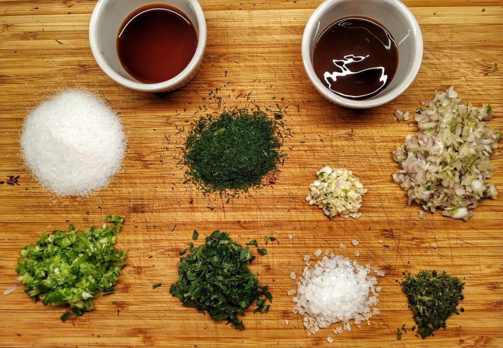 Zutaten für Laotische Bratwurst Sai Gok