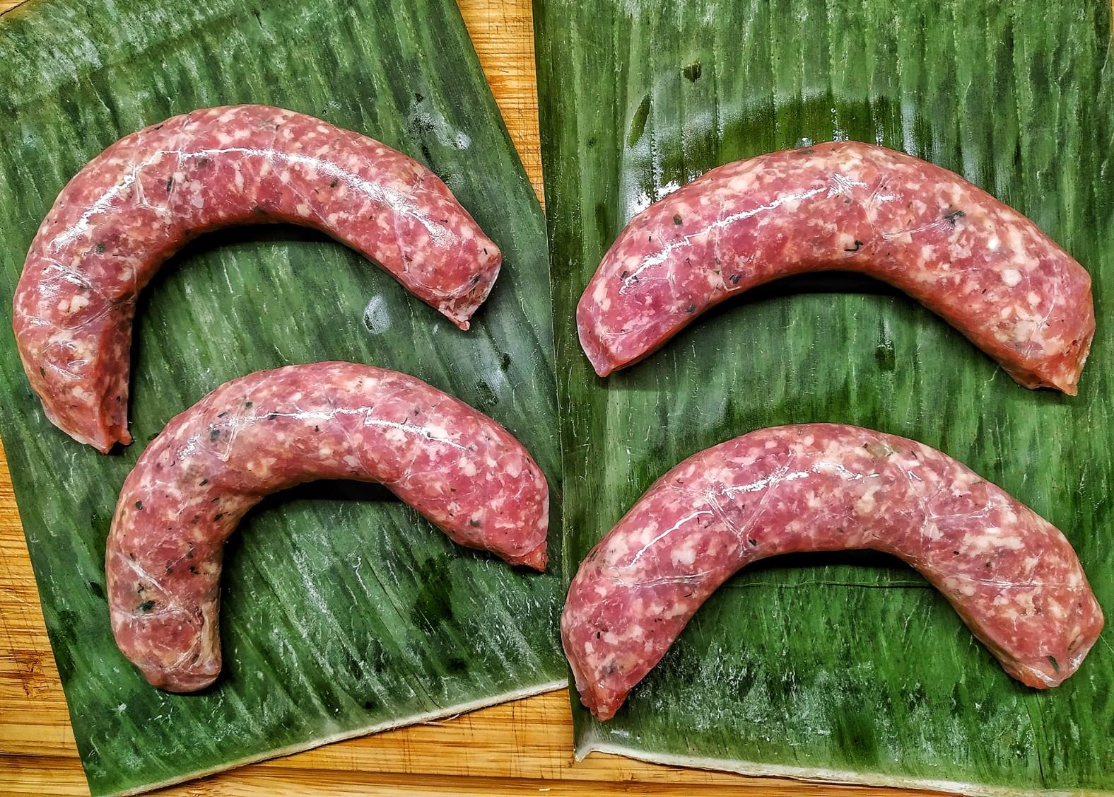 Laotische Bratwurst – Sai Gok