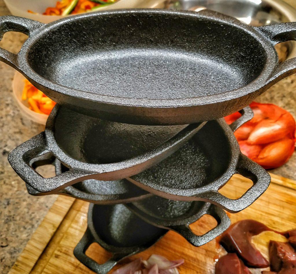 BBQ-Toro Gusseisen Servierschälchen