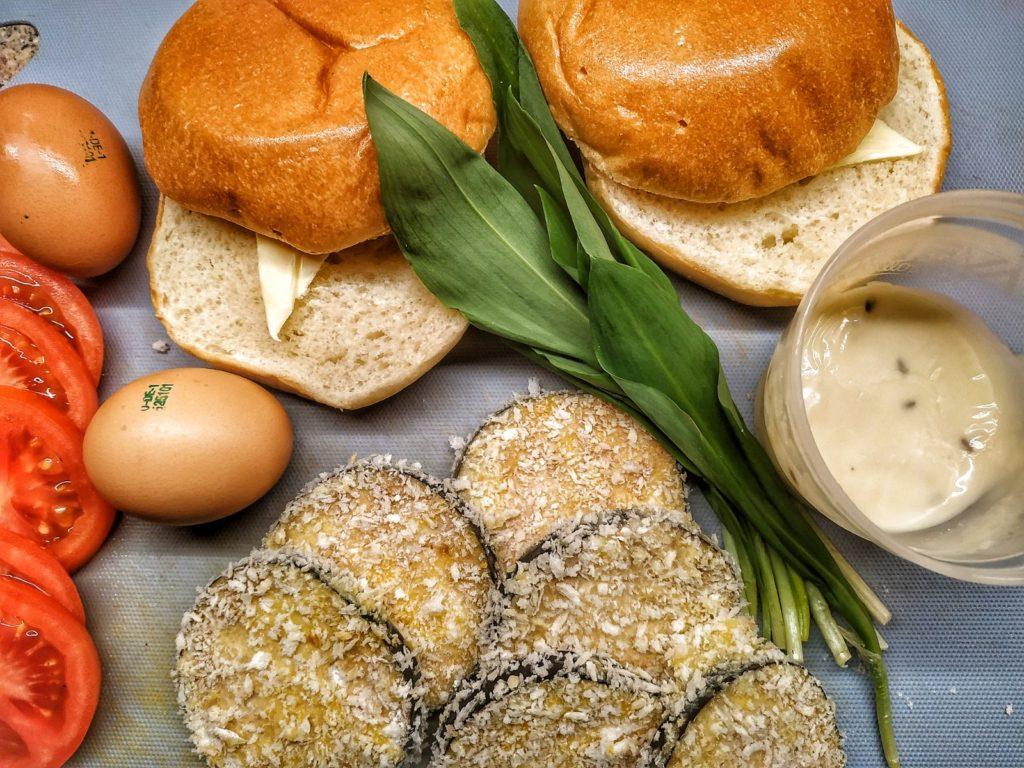 Zutaten für Iberico Pluma Burger