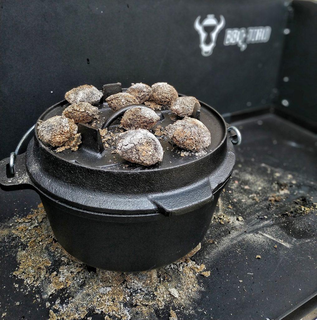 Iberico Schweinebäckchen aus dem Dutch Oven