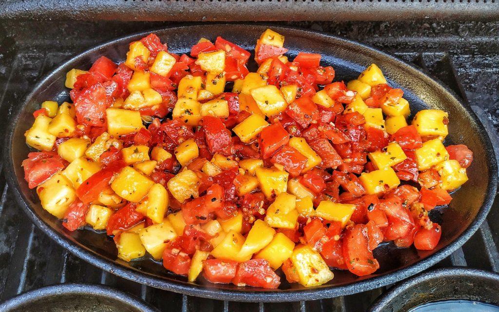 Mango Salsa vom Grill