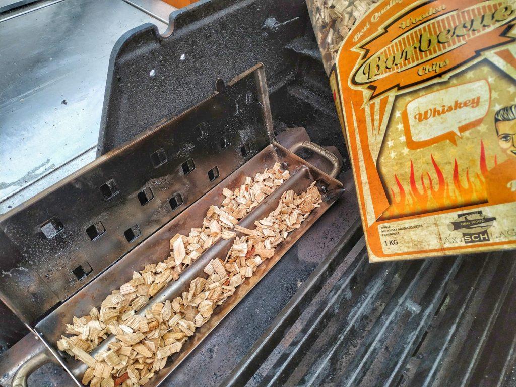 Räucherbox mit Räucherchips