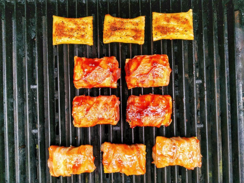 Maultaschen vom Grill