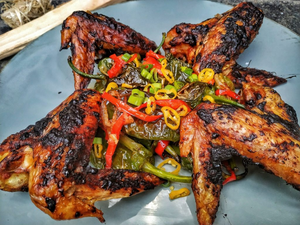 Chicken Wings Thai Style