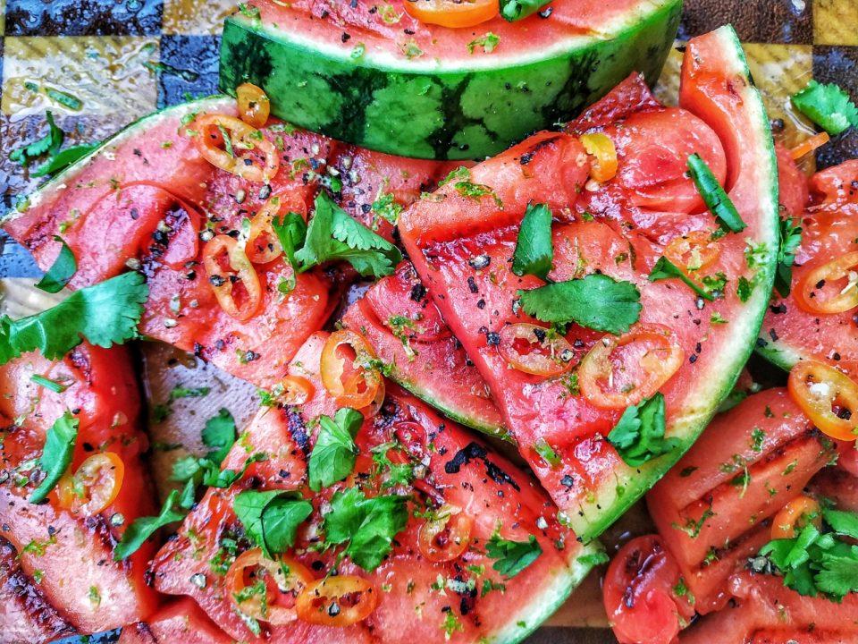 Wassermelone grillen