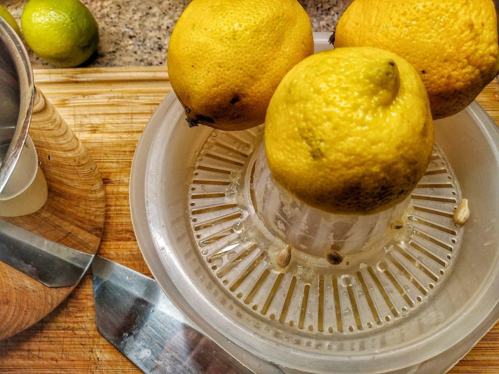 Zitronen für Lemon Chicken
