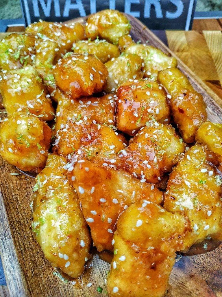 Chinesische Hähnchen Nuggets