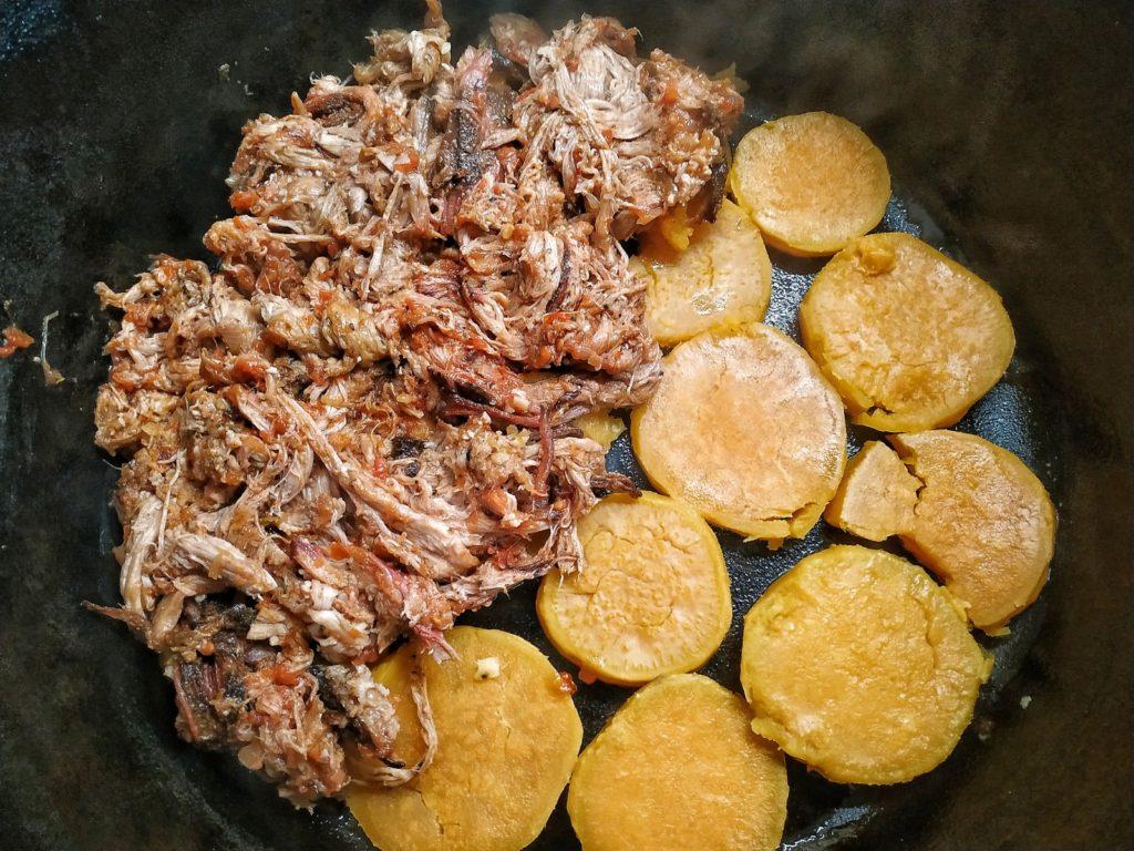 Pulled Pork Moussaka