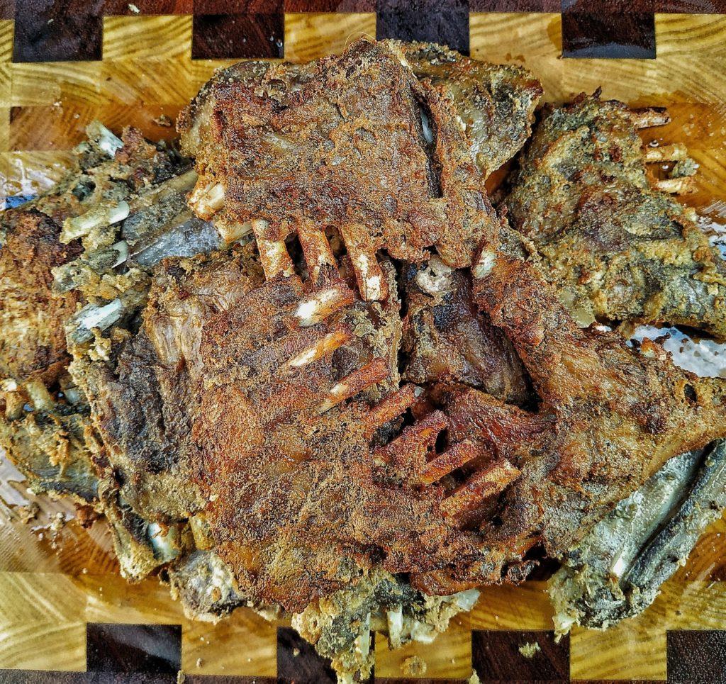 Kabargah - frittierte Lammribs