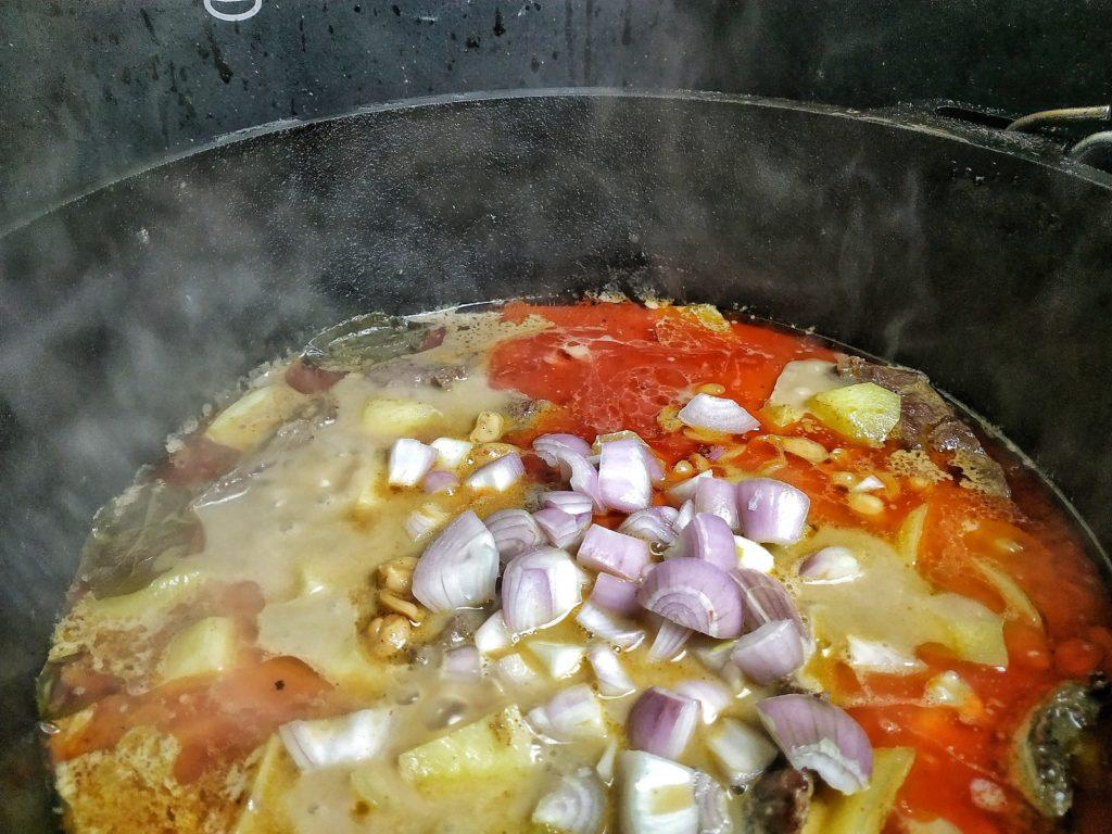 Massaman Curry aus dem Dutch Oven