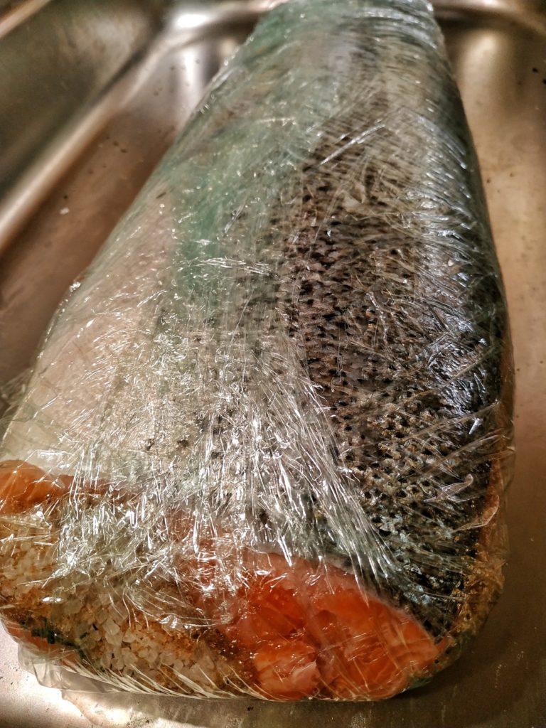 Graved Lachs beizen