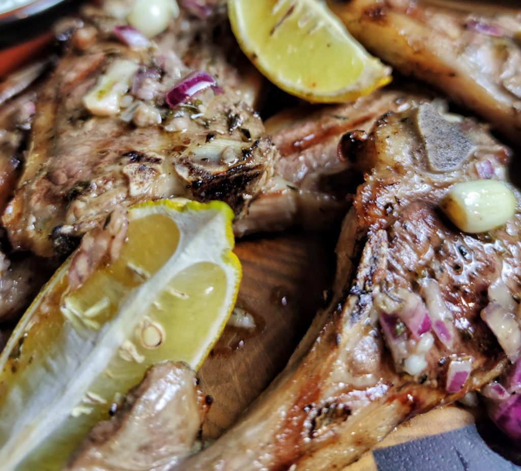 Griechische Lammkoteletts