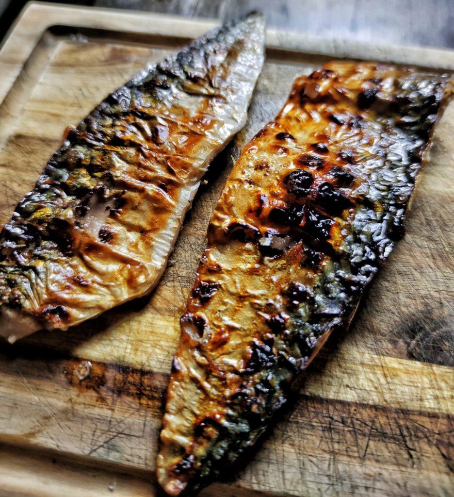 Saba Shioyaki - japanisch gegrillte Makrele