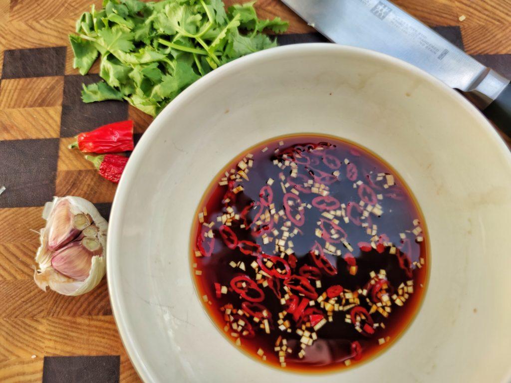 Dressing für Thailändischen Spargel Salat