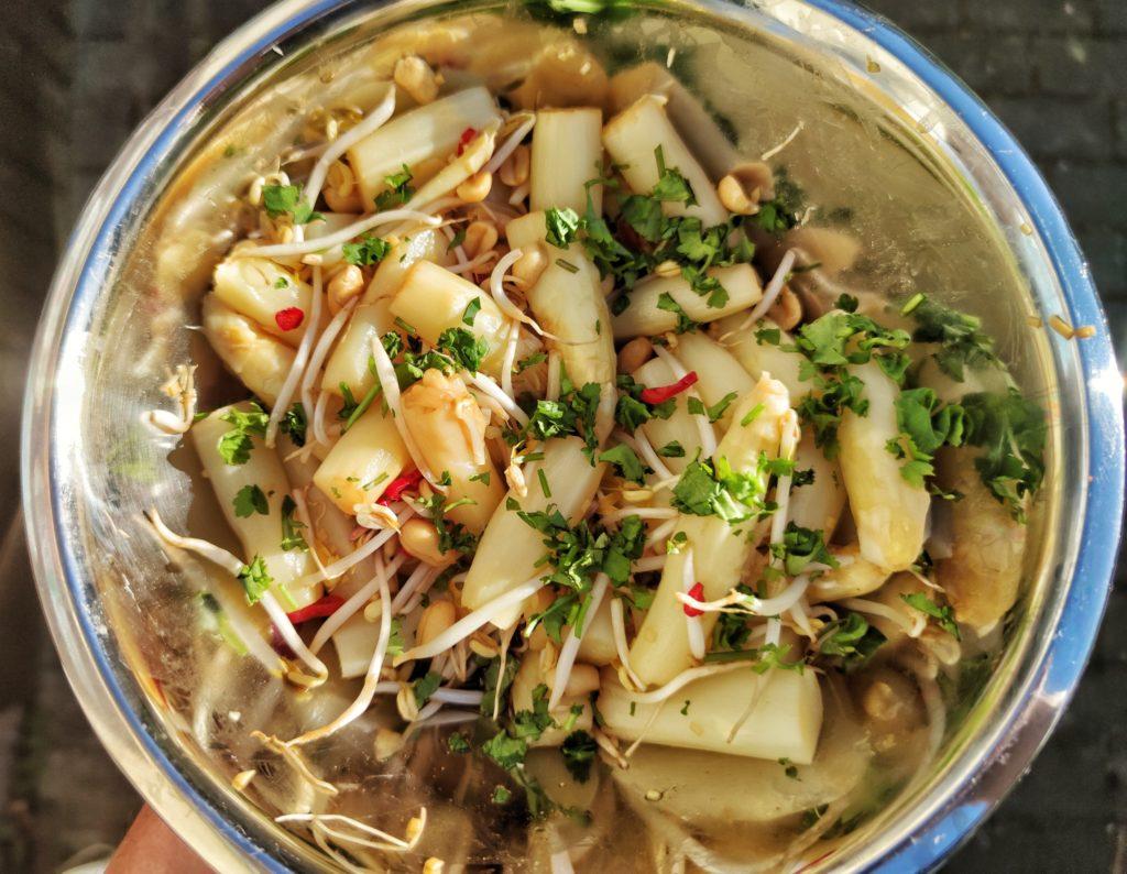 Thailändischer Spargel Salat
