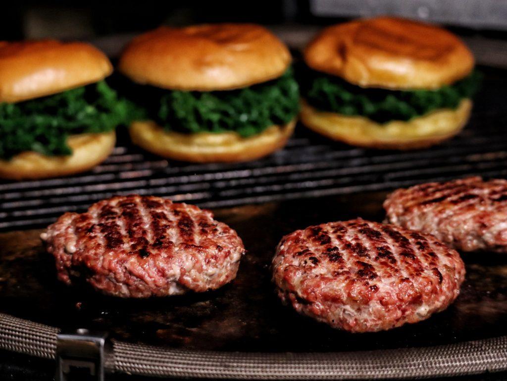 Nutria Burger grillen