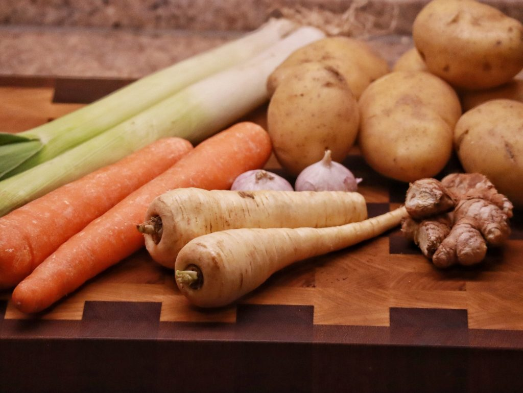 Gemüse für chinesischen Eintopf