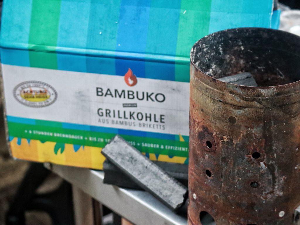 Bambuko Grillkohle aus Bambus von McBrikett