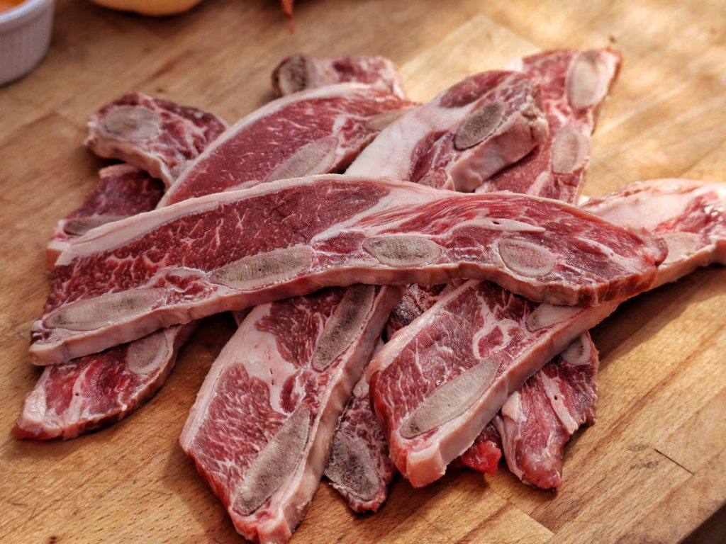 Beef Short Ribs Rinderrippen für Galbi
